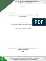 Foro Temático No. 3 El Excel Como Herramienta a Nivel Empresarial