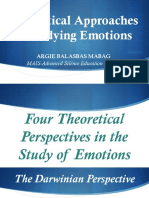 Theoretical Approaches in Studying Emotions