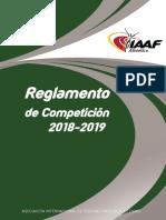 Manual IAAF 2018-20191