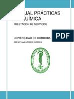 MANUAL PR�CTICAS BIOQU�MICA
