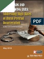 2018 04 RR Rural Pretrial Incarceration CEJ Levin Haugen