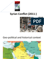 Syrian Conflict (2011-)