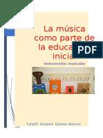 La Musica(Instrumentos Musicales)