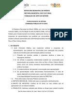 001 2018 Credenciamentoartistas Edital