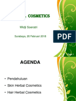 Herbal Cosmetics Application - Stikes Rs Anwar Medika - Krian - 25 Feb 2018 - Prof Widji