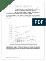 La Energía Eléctrica en México y El Mundo