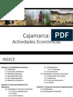 Cajamarca Actividades Económicas