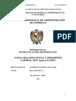 GUIA Informe Final Prácticas Pre Profesionales 2018