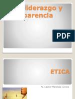 Ética Liderazgo y Transparencia Clase Nº1