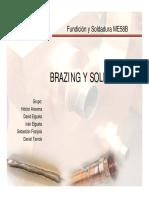 Brazing y Soldering