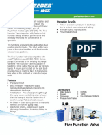 PULSAFEEDER 5 Function Valve Sell Sheet