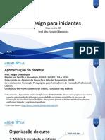 Apresentação Aula 1. Indesign Para Iniciantes. Sergio Ollandezos. VF (1)