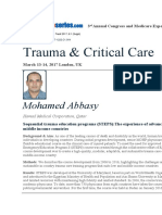 Sequential Trauma Education Programs (STEPS)