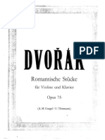 Dvorak Op.75 4 Romantic Pieces for Violin.pdf