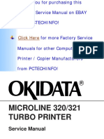 Microline Ml320, Ml321 Turbo Service Manual