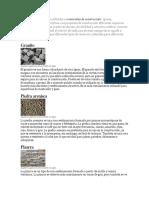 Tres Tipos de Piedra Son Utilizados En materiales de Construcción