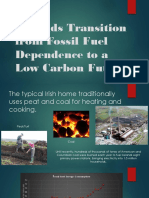 Irelands Transition From Fossil Fuel Dependence to A
