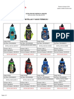 Catalogo de Ventas Al Mayor - Botellas 08-05-2018