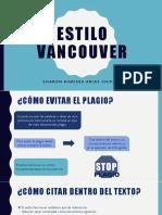 Estilo Vancouver - Diapositivas