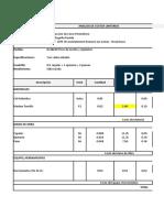 Analisis de Precios Unitarios CERCO