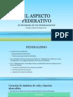 El Aspecto Federativo