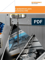 Renishaw - Sistema de Apalpadores Para Maquinas-ferramentas CNC
