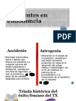 Accidentes en Endodoncia