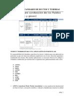 Normas y Estandares de Ductos y Tubos