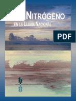 El Nitrógeno en La Lluvia Nacional
