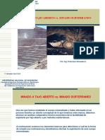 Open Pit Design Di Tambang Batubara