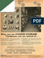 Stancor Transformers 1966 REM E30
