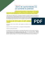 El Aumento de La Pobreza Según El INEI Lima