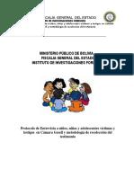 PROTOCOLO DE ENTREVISTA A NIÑOS Y ADOLESCENTE EN CAMARA GESELL Y METODOLOGIA DE RECOLECCIÓN DE TESTIMONIO.docx