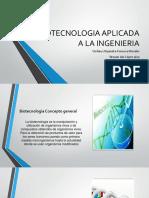 Biotecnologia Aplicada a La Ingenieria