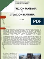 Desnutricion Materna y Situacion Materna Ppt