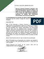 Decreto 961