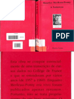 (1995) a Natureza- Merleau-Ponty