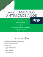1.- Medicamentos Antimicrobianos
