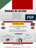 Métodos de Cocción