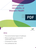 Environmental Sustainability in Healthcare 02032017(1)