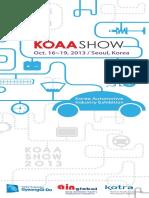 Koaashow 2013 Brochure Eng (1)