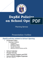 1. Policies on School Opening (1)
