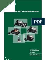 Yealink Full Range VoIP Phones Catalog V50