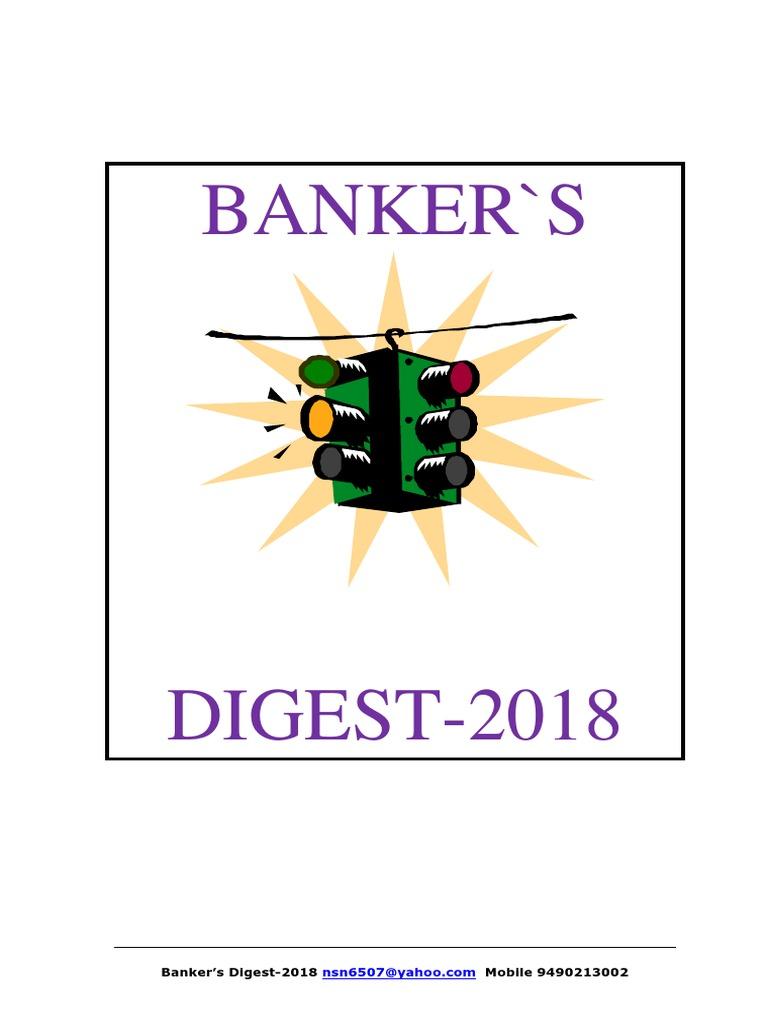 Banker s Digest 1 Deposit Account