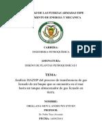 Analisis HAZOP-Proceso de Transferencia de GLP Del Man Hacia Un Tanque.