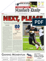 The Stanford Daily, Sept. 24, 2010