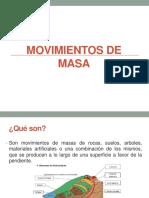 Movimientos de Masa
