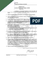 Ejercicios Estructura Condicional Simple Doble