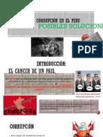 Impacto de La Corrupción en El Peru- Administracion