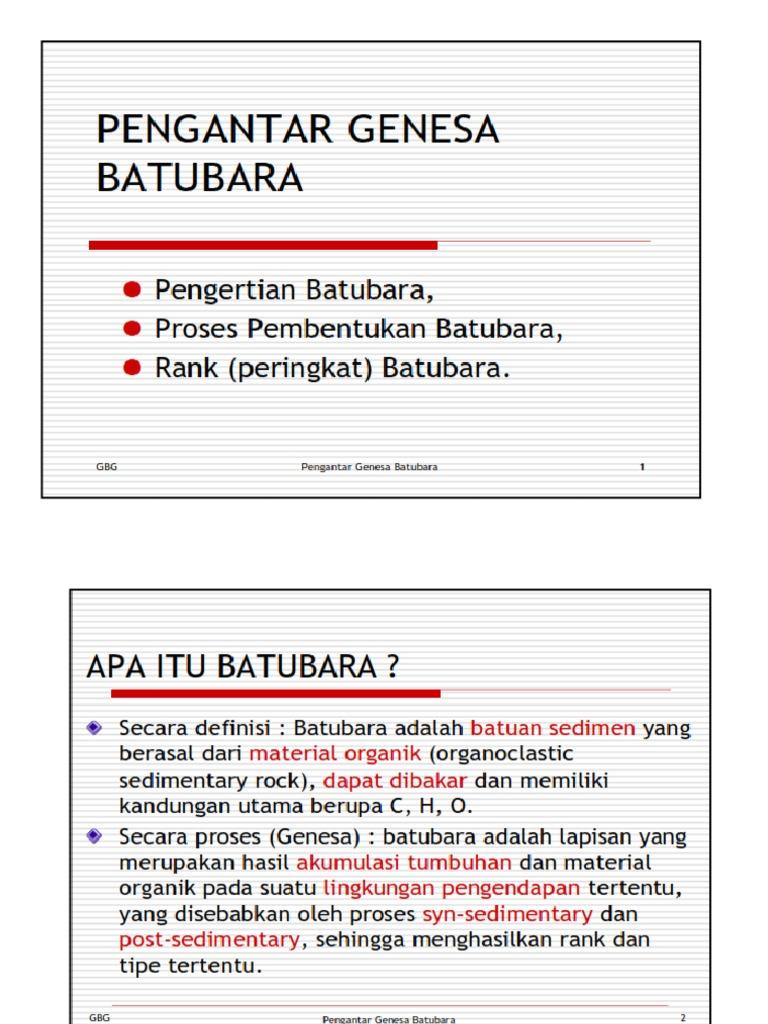 9  Genesa Batubara
